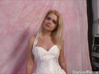 Morgan Lee Fucks Older Guy on her Wedding Day