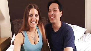 Brunette Milf Gets Deep Penetrated By Her Man.mp4