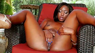 BIg ass Ebony Chanell Heart