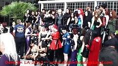 DomCon Dominatrix Convention Photoshoot Mistress FemDom 2012