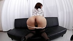 Japanese girl farting and pissing