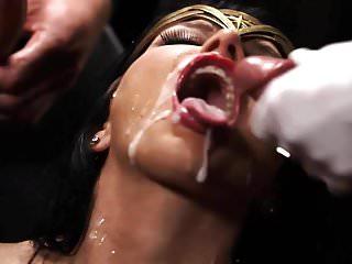 Justice League Gangbang Facial