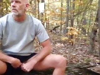 Str8 daddy what are you doing in the forest