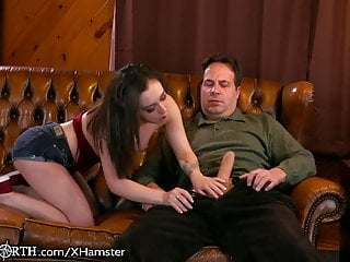 Careless Teen Step Daughter Loves It When Mom Isnt Home