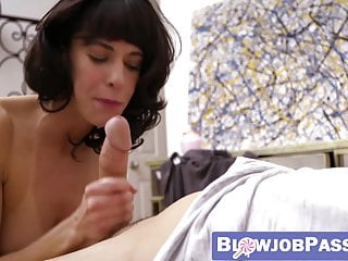 Cocksucking MILF Lexi Foxy receives facial from hung stepson