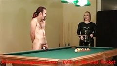 How a FemDom Wins at Pool - CBT In the Corner Pocket