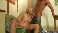 Horny muscle mature fucks his stepguy