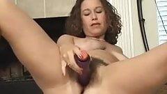 pussy fucks a dildo