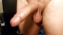 Erection closeup