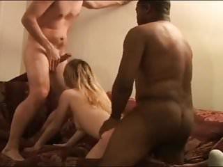 White man lets a black guy fuck his wife