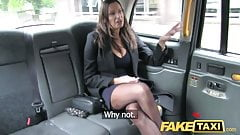 Fake Taxi it`s very HOT  busty babe gets massive cum sit`s very HOT  over her tits