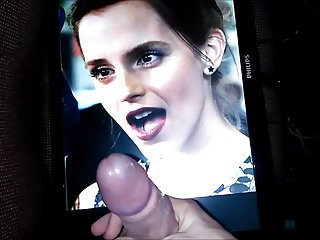 Emma Watson Finally Gets a Nice Facefull of Cum