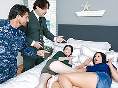 DaughterSwap - Military Dads Swap and Fuck Daughters