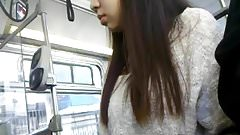 Bus Cam 5: Asian Babe Seat Mate