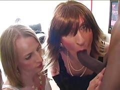 Two Crossdressers take on a BBC