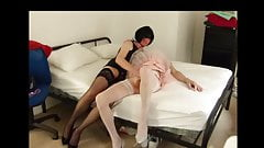 Playing with another sissy gurl