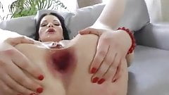 Slut in Red Anal Fisting -AFM-