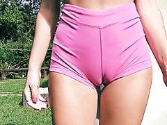Big Ass Fit Body Fat Cameltoe Perky Tits Blonde Teen