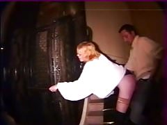 Girl anally abused in stairs