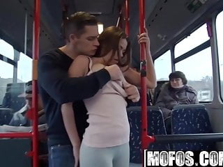 Mofos B Sides - Bonnie - Public Sex City Bus Footage - Mofos