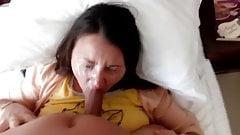 Big messy facial
