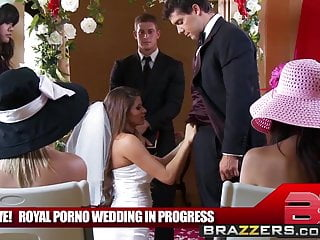 Madelyn Marie Ramon The Royal Porno Wedding Brazzers