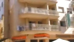 hidden camera girl without panties on balcony