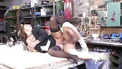 Sexy Susi Fucked In Black Stockings
