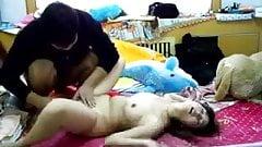 Amateur Young Asian Couple