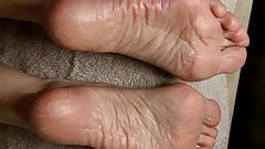 More SPERM Therapy for Lyn's Dry Feet - Part 4.