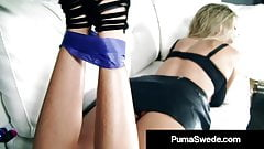 Busty Blonde Bombshell Puma Swede Fucks Her Step Daughter!