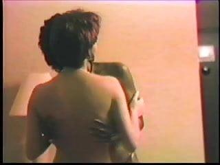 Strange lesbians - Strange erotic pin vintage interracial