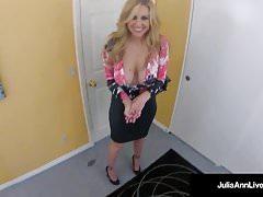 Beautiful Milf Julia Ann - Hooker on Spy Cam Blowing A Dick!