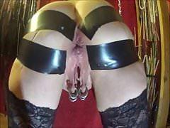 BDSM wife take anal sex part 1