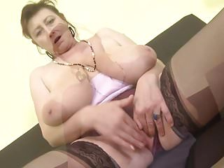 Gorgeous Czech mature mother with super boobs