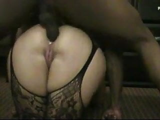 Big White Ass Anal And A BBC