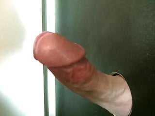 Gloryhole Cum Blowjob