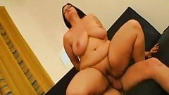 Horny Fat BBW friend with big Tits love riding her lover-P2