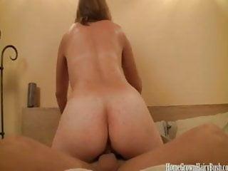 Cumming All Over My Girlfriends Hairy Bush