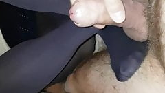 My Lady Gives Me A Luxury FootJob Wolford Opaques Feb 2019's Thumb