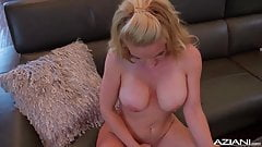 BLONDE MILF RACHAEL CAVALLI GETS NAKED ENDING WITH ORGASM