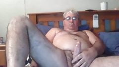 grandpa and grandpa on webcam