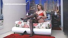WM 509 Milf black Nylons Legs & Heels
