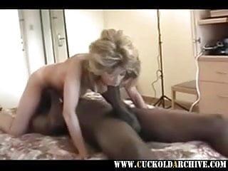 Cuckold archive - MILF sucking fucking huge BC sissy husband