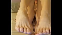 Sexy French Teen Oils Her Naked Body