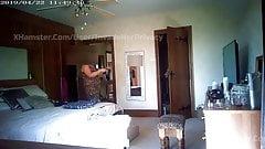 Mature Wife on Hidden Cam 12 - DRESSING