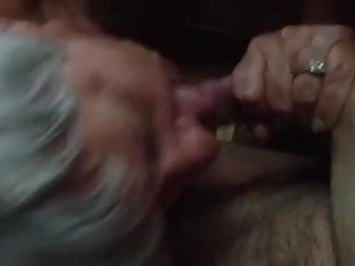 Submitted 60 year old milf sucking cock!!