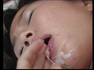 Hot asian cock sucker with hairy young bush gets fucked hard in a hotel room