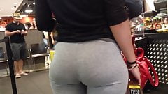Candid Booty Pawg Perfect Ass in Cafeteria 's Thumb