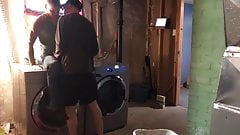 Hot Fucking in the Laundry Room